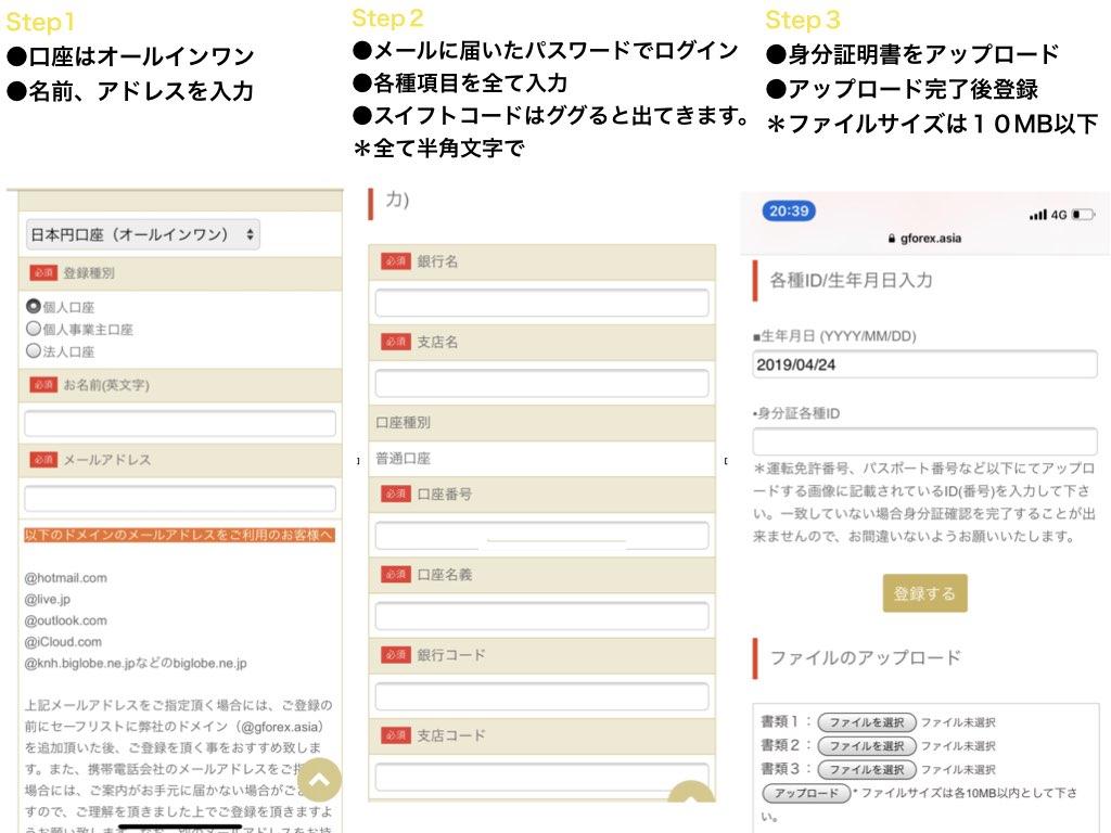 gemforex登録