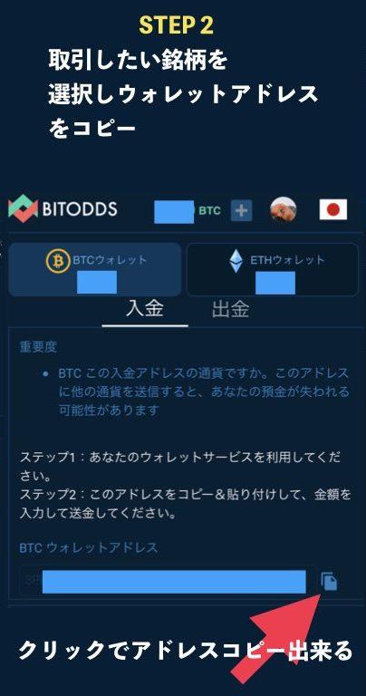 BITODDS入金