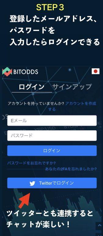 BITODDS登録